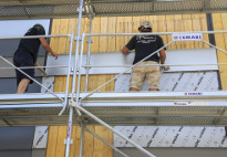 Zinc roofers are adding another string to their bow: facades!
